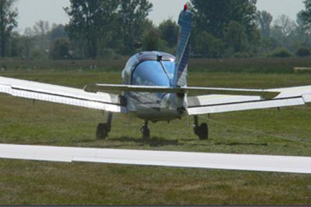 Segelfliegen am Bremer Flughafen